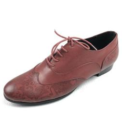 FRENCH BLU womens oxfords size 41 11 brown wingtip lace up s