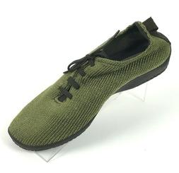 Arcopedico Women's Size 42/10 Olive Green Vegan Orthopedic