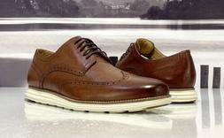 Cole Haan Woodbury/Ivory OriginalGrand Wingtip Oxford Shoes