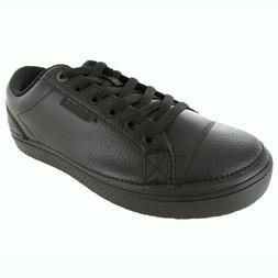 Crocs Men's Work Hover Oxford,Black/Black,7 M US