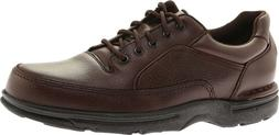 Rockport World Tour Eureka Oxford Shoes  in Brown Full Grain