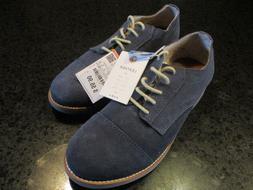 Your Deal;  ZARA Boys Medium Blue Leather Oxford Shoes 38  U
