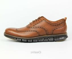 Cole Haan ZERO Grand Men's Wingtip Oxford Shoes C24964 Brown