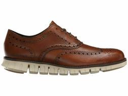 Cole Haan Zerogrand Wing Oxford British Tan Men's Leather
